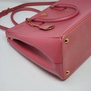 Prada Bags - Auth Prada Saffiano Large Galleria Satchel Bag